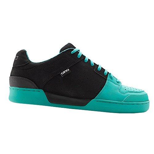 c9e547e47de0c7 Giro Jacket MTB Cycling Shoe in Black Turquoise 45
