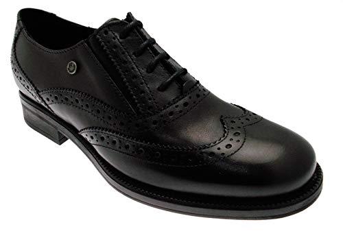 Up Francesina Chaussures Lace 85302 Nero Femme Riposella Inglesina wPXqIOT
