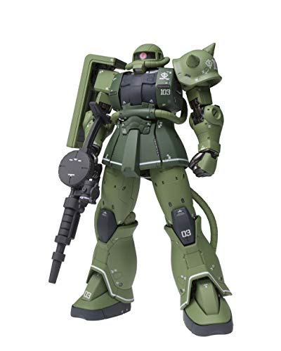 Mobile Suit Gundam: The Origin MS-06C Zaku II Type C, Bandai GundamFix Figuration Metal Composite