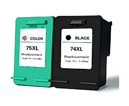 Amazon.com: 74XL 75XL Ink Cartridge for HP Deskjet D4260 ...