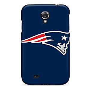 Shock-Absorbing Hard Phone Case For Samsung Galaxy S4 With Customized Vivid New England Patriots Pictures JoanneOickle