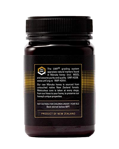 Manukora UMF 20+/MGO 830+ Raw Mānuka Honey (500g/1.1lb) Authentic Non-GMO New Zealand Honey, UMF & MGO Certified, Traceable from Hive to Hand by Manukora (Image #3)