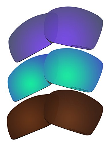 3 Pairs Replacement Lenses Polarized C9 for Oakley Big Taco - C9 Sunglasses