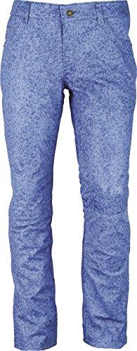 Fuente Pantaloni Leather Wears Blue Uomo Cristal qOfZn87