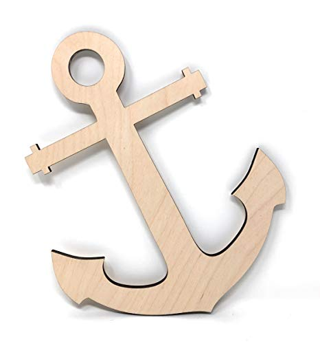Gocutouts Wooden 12 Anchor