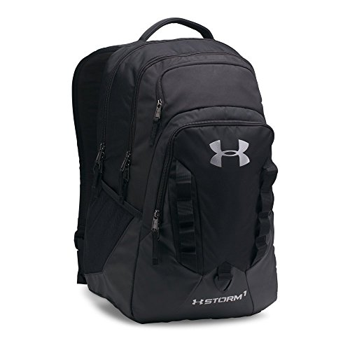 Under Armour Storm Recruit Backpack,Black /Steel, One Size