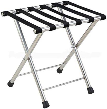 ZT-TTHG 荷物は、荷物ラック、ホテルルーム折り畳み式のステンレス製のスーツケースホルダーラック、荷物棚スーツケースバックパックラック