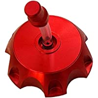 TDPRO CNC Aluminum Gas Fuel Tank Cover Cap with Breather...