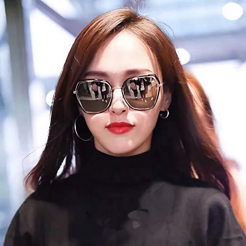 MQKZ Gafas de sol 2019 gafas de mujer nuevas caras redondas ...