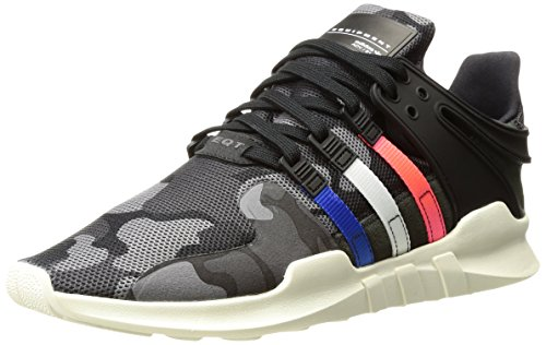 Adidas Originali Mens Eqt Supporto Sneakers Moda Adv Nero / Satellite / Bianco