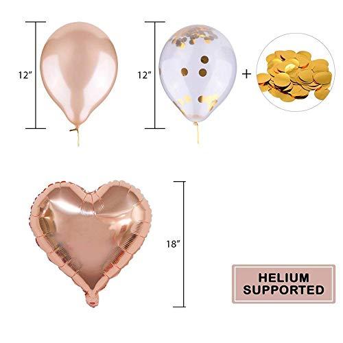 Fête 2 Décorations Décoration Bannière Anniversaire Rose Anniversaire Gold Hotchy w4XCZqw