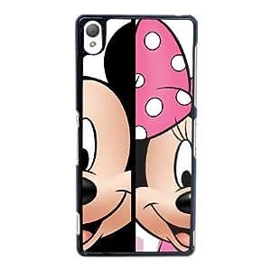 Sony Xperia Z3 Cell Phone Case Black Mickey and Minnie YT3RN2581670