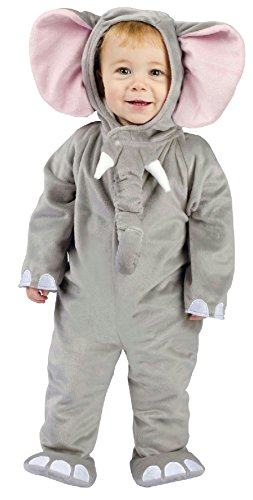 Baby Cuddly Elephant Costumes (Cuddly Elephant Infant Baby Costume 6-12 Months)