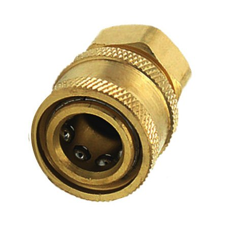 1/4 Inch Quick Release to BSP1/4 Female Pressure Washer Hose Adapter Coupling MiguCo