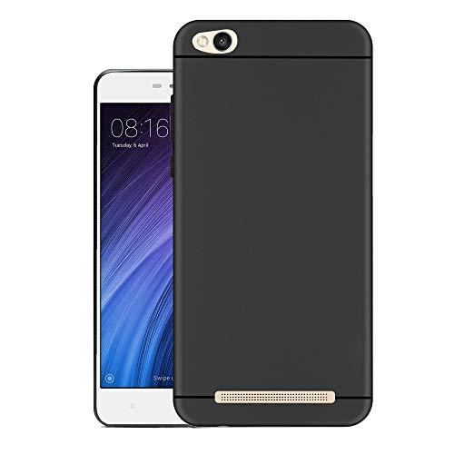 Hello Zone Exclusive Matte Finish Soft Back Case Cover for XIAOMI MI REDMI 4A   Black