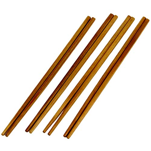 (Chef Craft Bamboo Chopsticks, Brown)
