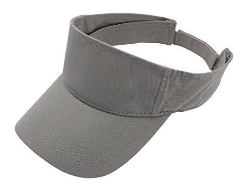 (Top Level Sun Sports Visor Men Women - 100% Cotton Cap)