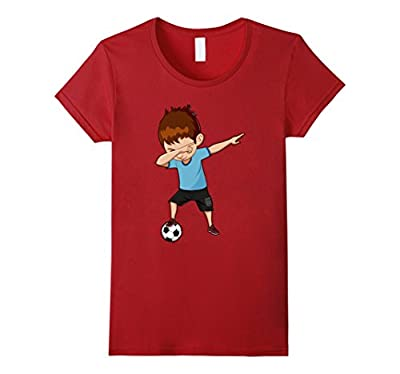 Soccer Shirt for Boys Funny Dabbing Dab Dance Soccer Ball