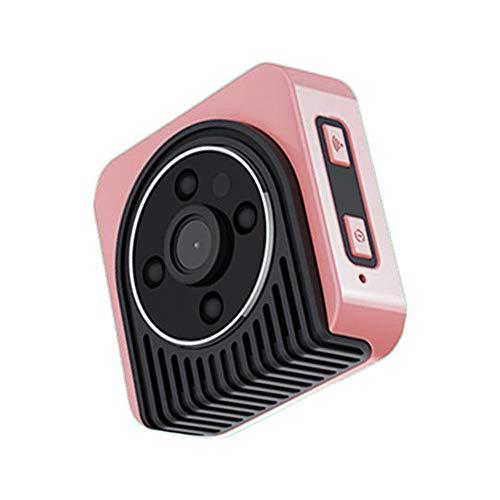 Springdoit Cámara de Red 720P cámara de visión Nocturna cámara Digital DV Lente P2P HD DVR Mini visión Gran Angular LED...