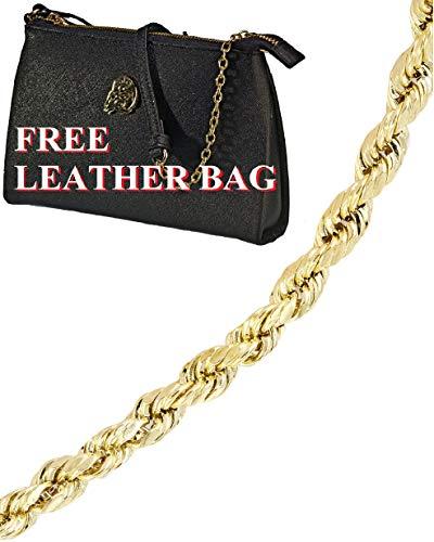 14k Gold Rope Bracelet -