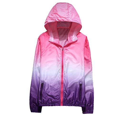 Jacket Top Patchwork Donna Felpa Felpa BaZhaHei Protezione Solare Moda Giacca Autunno Cappuccio Donna Cappotto Donne con 2018 Lunga Top Cappotto Manica gO66f