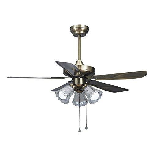 Lilamins Restaurant Ceiling Fan Stealth Fan Light Living Room Lamp Ceiling Fan  Fan Ceiling Bedroom Fan