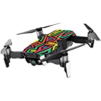 MightySkins Skin for DJI Mavic Air Drone - Hyper | Min Coverage Protective, Durable, and Unique Vinyl Decal wrap cover | Easy To Apply, Remove, and Change Styles | Made in the USA