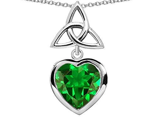 Star-K-Sterling-Silver-Celtic-Knot-Heart-Pendant