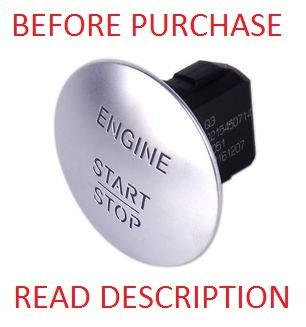 Genuine Mercedes-Benz Keyless Go Ignition Button