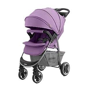 Bébé et Puériculture / Poussettes, landaus et acce Légère poussette de bébé poussette légère Chariot for enfants Bonne…