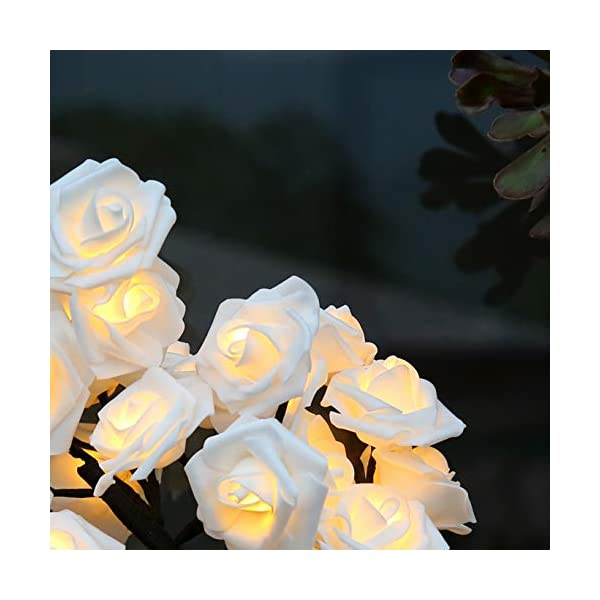 Brightdeco Led Rose Tree Lamp 18 H 32 Led Artificial Bonsai Tree Night Light Centerpiece Great Decor For Home Bedroom Valentine S Day Thanksgiving Christmas Easter Wedding Party Warm White Blinkee Com