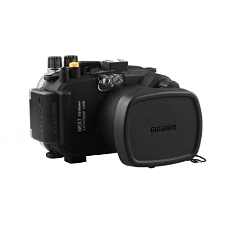 carcasa submarina para cámara Sony NEX7 16-50mm Lente - Carcasa acuática para cámaras