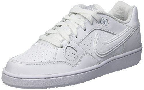 NikeWmns Son Of Force - Basket Mujer Blanco (White / White-Wolf Grey-White)