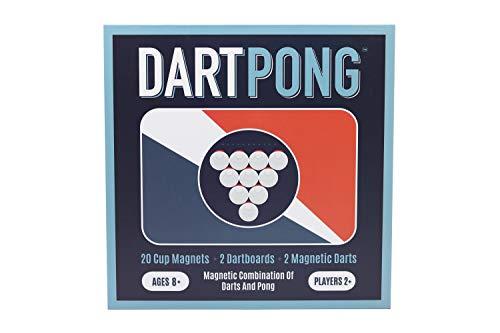 Dart Pong -- Beer Pong Plus Darts Indoor Party Game ()