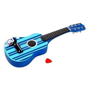 lelin 樂林玩具 兒童吉他玩具 樂器音律玩具 手工打磨