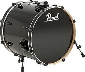 pearl vision birch bass drum jet black 22x18 musical instruments. Black Bedroom Furniture Sets. Home Design Ideas