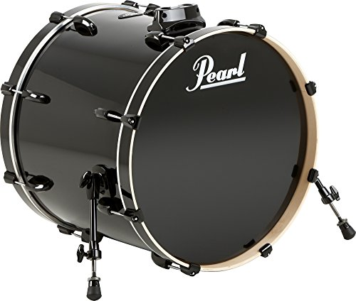 Pearl Vision Birch Bass Drum Jet Black 22x18