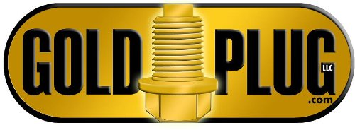 12mm Magnetic Drain Plug Reduced Depth MP-06R Gold Plug