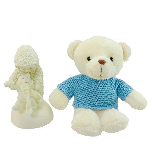 Teddy Enesco Bear - Dept 56 Snowbabies BABY BEAR STEPS 795995 Baby Boy Teddy Bear New