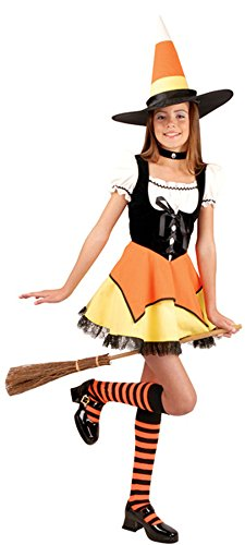 [Preteen Candy Corn Witch Costume Size: Preteen 14-16] (Kandy Korn Witch Costumes)