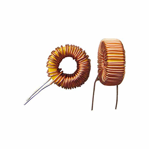Exiron 2PCS Toroid Core Inductors Wire Wind Wound for DIY mah-100uH 6A Coil