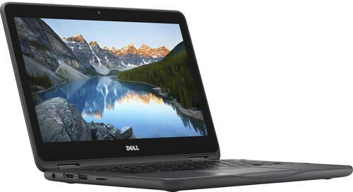 Dell Inspiron 11 3000 3185 I3185-A784GRY-PUS 2-in-1 Notebook PC - AMD A9-9420E 1.8 GHz Dual-Core Processor - 4 GB DDR4 SDRAM - 500 GB Hard Drive - 11.6-inch Touchscreen (Renewed)