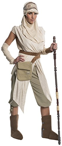 Star Wars Rubie's Women's Episode VII: The Force Awakens Grand Heritage Rey Costume