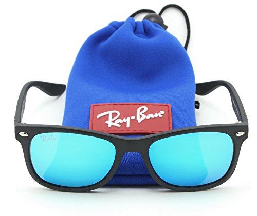 Ray-Ban RJ-9052S 100S55 New Wayfarer JUNIOR Sunglasses Matte Black, - For Ban Sunglasses Ray Babies