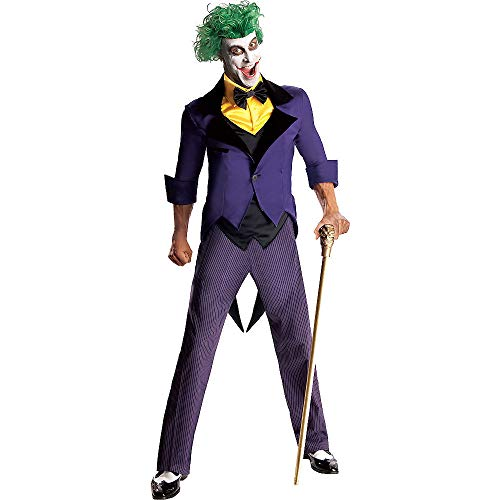 Rubie's Men's Dc Super Villains Adult Joker, Yellow/Purple,