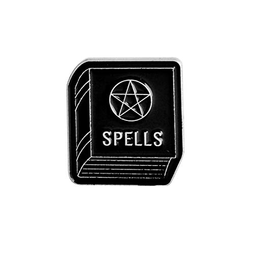 - PKPINS Pins Badges Brooches Lapel Pin Enamel Pin Backpack Bag Accessories Witch Pin Spells