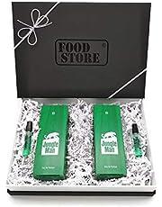 2x LR Jungle Man Eau de Parfum 50ml (Nr.3430) + 2 Jungle Minis für unterwegs - mit hochwertiger Geschenkverpackung