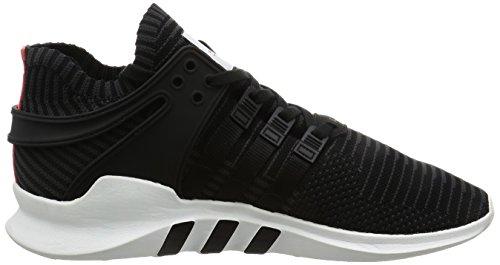 adidas Herren Eqt Support Adv Primeknit Sneakers, Schwarz (C Black / C Black / Turbo), 46 2/3 EU