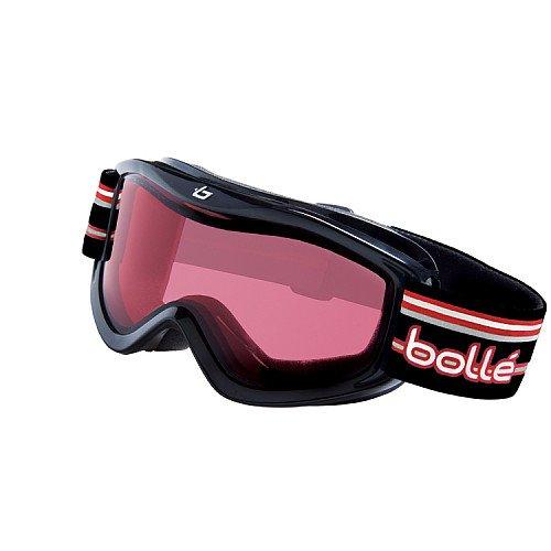 Bolle Volt Snow Goggles (Black Stripes, Vermillon), Outdoor Stuffs