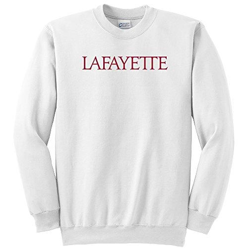NCAA Lafayette Leopards  Youth Crewneck Sweatshirt, White, Medium